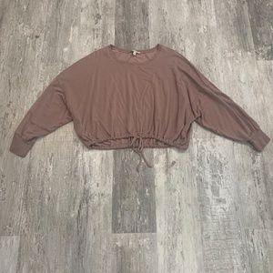 Express Comfy cropped Sweat shirt